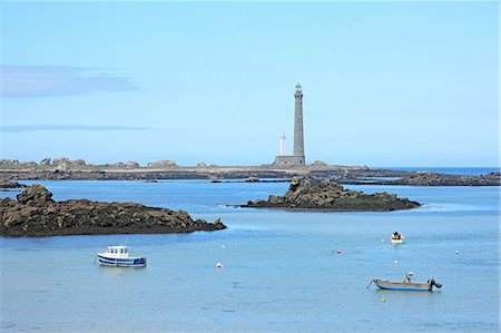 France, Brittany, Lighthouse Stock Photo - Premium Royalty-Free, Code: 6106-07539316