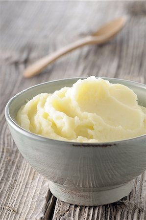 mashed potato Stock Photo - Premium Royalty-Free, Code: 6106-07539415