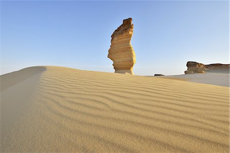 egypt - Rock Formation in Desert Stock Photo - Premium Royalty-Free, Code: 6106-07601792