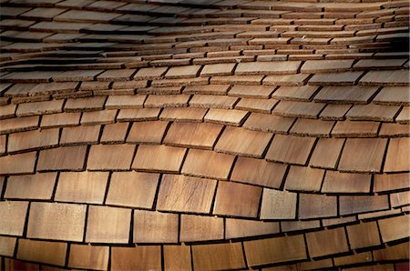 patterned - Roof shingles design Stock Photo - Premium Royalty-Free, Code: 6106-07602164