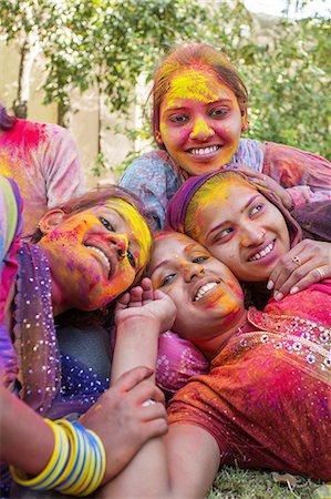 stain (dirty) - Holi Festival Celebrations Stock Photo - Premium Royalty-Free, Code: 6106-07761798