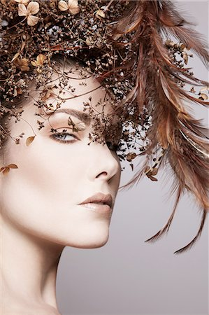 Autumn feather beauty Stock Photo - Premium Royalty-Free, Code: 6106-08057950