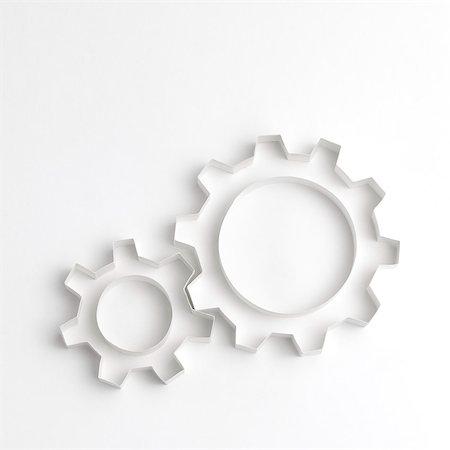 Origami gear wheels Stock Photo - Premium Royalty-Free, Code: 6106-08181430