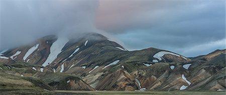 extreme terrain - Landscapes- Landmannalaugar, Iceland Stock Photo - Premium Royalty-Free, Code: 6106-08277184