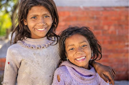 Young Nepali girls in Bhaktapur Stock Photo - Premium Royalty-Free, Code: 6106-08277794