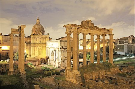 Italy, Rome, Foro Romano Stock Photo - Premium Royalty-Free, Code: 6106-08277963