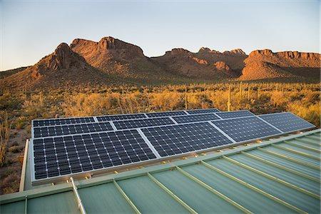 solar panel usa - Solar panels Stock Photo - Premium Royalty-Free, Code: 6106-08480505
