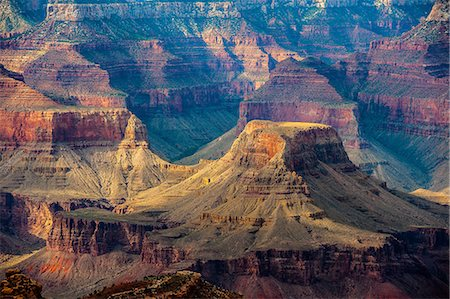 extreme terrain - The Grand Canyon Stock Photo - Premium Royalty-Free, Code: 6106-08480669