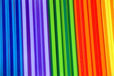 Close-up of colorful pencils Stock Photo - Premium Royalty-Free, Code: 6107-06117485