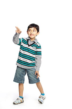 Portrait of little boy Stock Photo - Premium Royalty-Free, Code: 6107-06117683