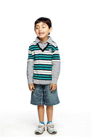Portrait of little boy Stock Photo - Premium Royalty-Free, Code: 6107-06117685