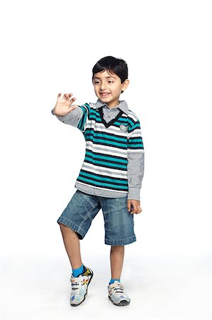 Portrait of little boy Stock Photo - Premium Royalty-Free, Code: 6107-06117688