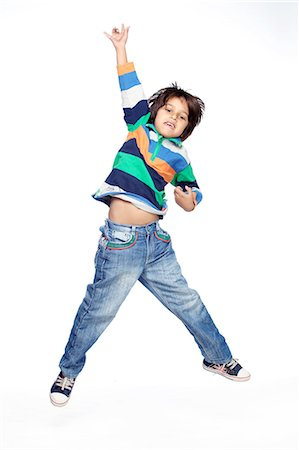 Portrait of little boy Stock Photo - Premium Royalty-Free, Code: 6107-06117700