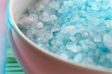 Bath salts, close-up Stock Photo - Premium Royalty-Free, Code: 6108-05857243