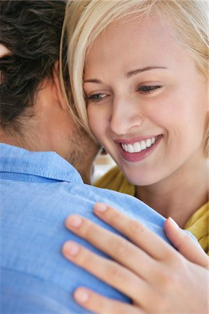 Couple embracing each other Stock Photo - Premium Royalty-Free, Code: 6108-05869533