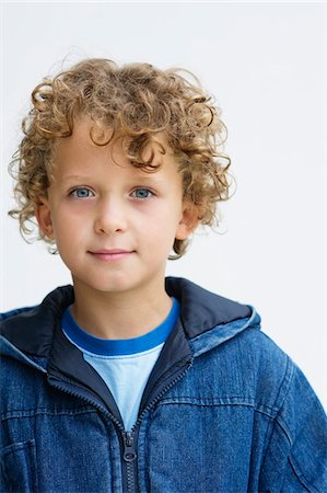 Portrait of a boy Stock Photo - Premium Royalty-Free, Code: 6108-05870609