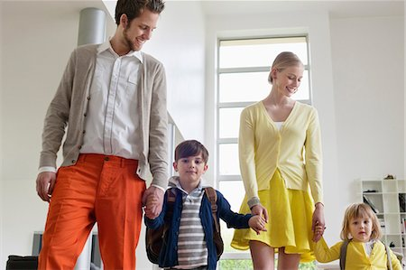 Couple with their children Stock Photo - Premium Royalty-Free, Code: 6108-06166809