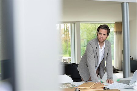 drawing computer - Interior designer working in the office Stock Photo - Premium Royalty-Free, Code: 6108-06168138