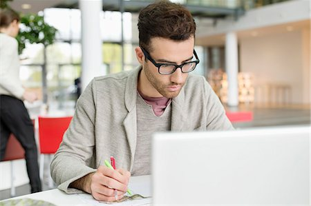 drawing computer - Male fashion designer working in an office Stock Photo - Premium Royalty-Free, Code: 6108-06168264