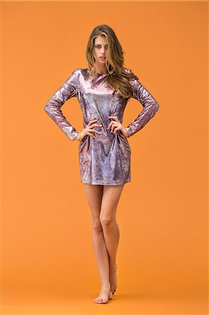 sexi women full body - Portrait of a woman posing Stock Photo - Premium Royalty-Free, Code: 6108-06905842