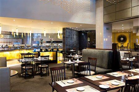 Interiors of a restaurant Stock Photo - Premium Royalty-Free, Code: 6108-06906748