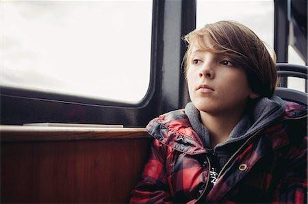 Boy thinking Stock Photo - Premium Royalty-Free, Code: 6108-07969524