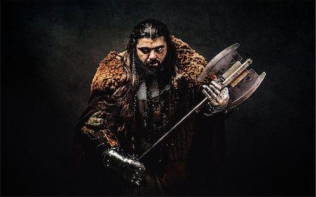 dwarf - Warrior dwarf Stock Photo - Premium Royalty-Free, Code: 6108-08636989