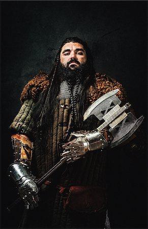 dwarf - Warrior dwarf Stock Photo - Premium Royalty-Free, Code: 6108-08636990