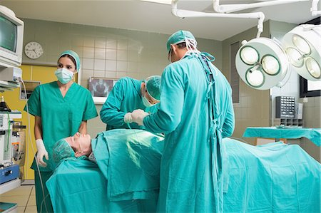 View of medical team Stock Photo - Premium Royalty-Free, Code: 6109-06195906