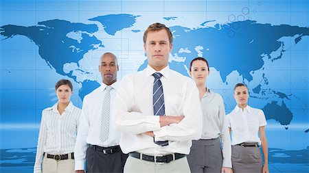 Serious business team Stock Photo - Premium Royalty-Free, Code: 6109-06684737