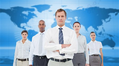Diverse business team Stock Photo - Premium Royalty-Free, Code: 6109-06684736