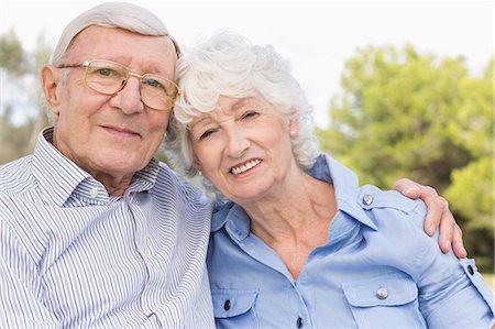Portrait of elderly couple Stock Photo - Premium Royalty-Free, Code: 6109-06684821
