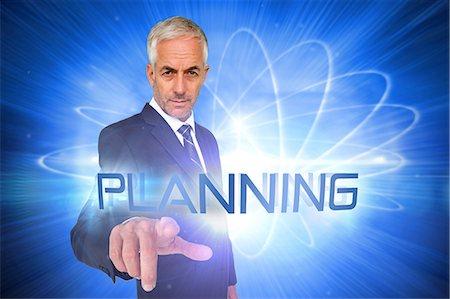 futuristic - Planning against shiny futuristic sphere Stock Photo - Premium Royalty-Free, Code: 6109-07601744
