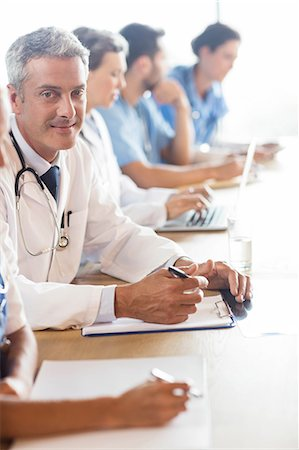 staff - Medical team having a meeting at the hospital Stock Photo - Premium Royalty-Free, Code: 6109-08488915