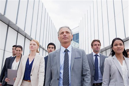 filipino - Confident business people looking ahead Stock Photo - Premium Royalty-Free, Code: 6113-06498777