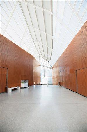 Corridor of modern office Stock Photo - Premium Royalty-Free, Code: 6113-06498868