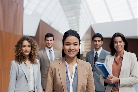 filipino ethnicity - Portrait of confident business people Stock Photo - Premium Royalty-Free, Code: 6113-06498834
