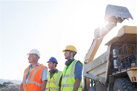 Workers standing on site Stock Photo - Premium Royalty-Free, Code: 6113-06625930
