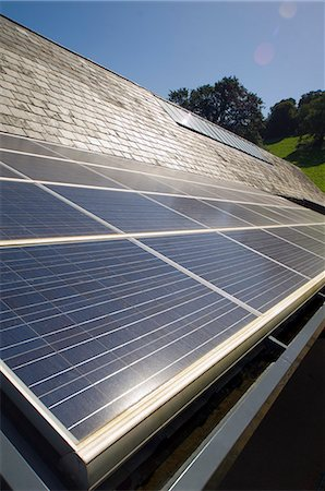 Close up of solar panels outdoors Stock Photo - Premium Royalty-Free, Code: 6113-06626733