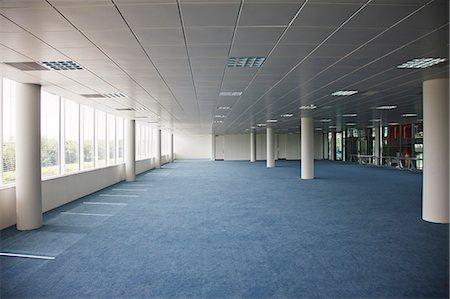 pillar - Empty office building Stock Photo - Premium Royalty-Free, Code: 6113-06721398