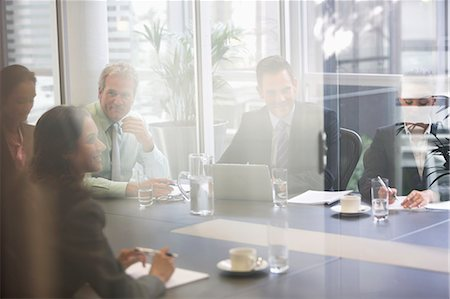 Business people meeting in conference room Stock Photo - Premium Royalty-Free, Code: 6113-06898995