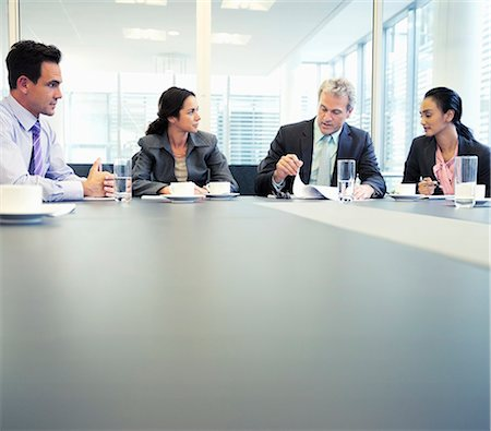Business people meeting in conference room Stock Photo - Premium Royalty-Free, Code: 6113-06899063