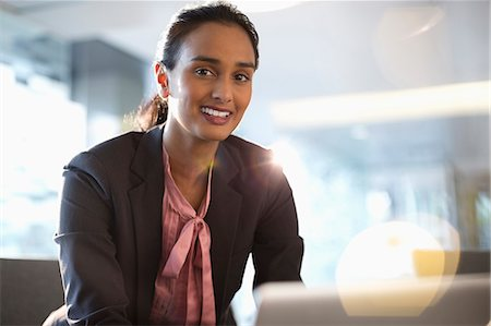Portrait of confident businesswoman Stock Photo - Premium Royalty-Free, Code: 6113-06899065