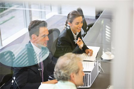 Business people meeting in conference room Stock Photo - Premium Royalty-Free, Code: 6113-06899086