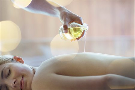 Woman receiving massage at spa Stock Photo - Premium Royalty-Free, Code: 6113-07147413
