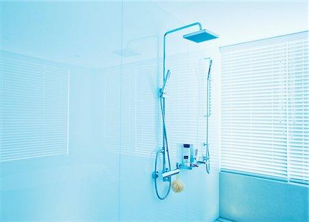 shower - Square shower head in modern bathroom Stock Photo - Premium Royalty-Free, Code: 6113-07147817