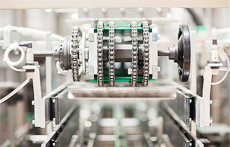Close up of machinery in factory Stock Photo - Premium Royalty-Free, Code: 6113-07160263