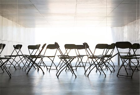 Empty chairs in office Stock Photo - Premium Royalty-Free, Code: 6113-07242161