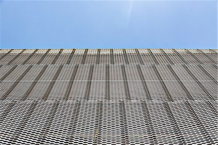 Close up of textured wall on modern building Stock Photo - Premium Royalty-Free, Code: 6113-07242240