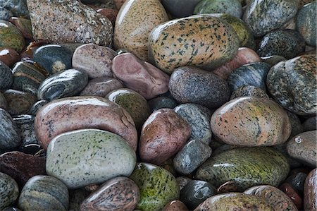 Close up of wet rocks Stock Photo - Premium Royalty-Free, Code: 6113-07242283